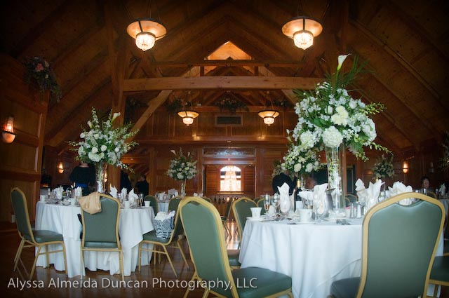 Their Dining Room At The Tewksbury Country Club
